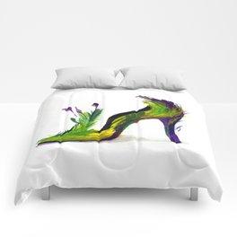 Feathered Heel Comforters