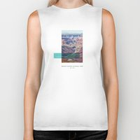 parks Biker Tanks featuring National Parks: Grand Canyon by Roadtrippers