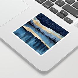 Midnight Lake Sticker