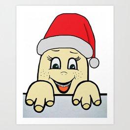Merry Christmas,Frohe Weihnachten,Joyeux Noël ,Buon Natale,Navidad,Feliz Natal,С Рождеством Art Print