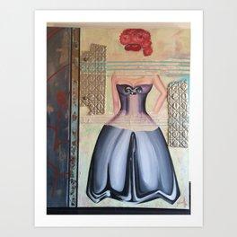 Chevy Woman Art Print