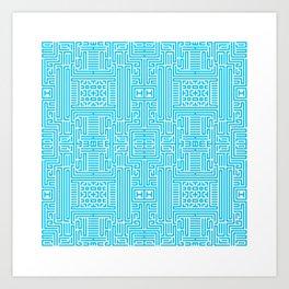 Symmetry 2 Art Print