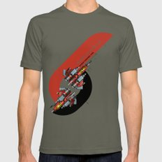 Raiden Fighters Lieutenant X-LARGE Mens Fitted Tee