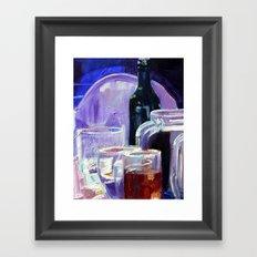 A Series of Wedding Dancer Still-Life Paintings 2. Framed Art Print