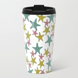starfish tropical print Travel Mug