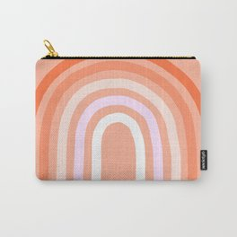 Rise above the Rainbow - Peachy pastels Carry-All Pouch
