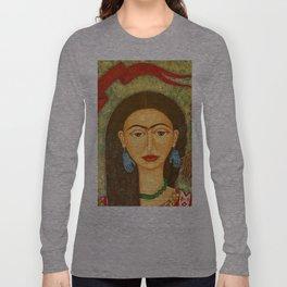 My homage to Frida Long Sleeve T-shirt