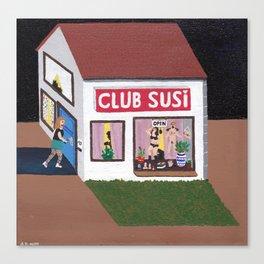 """ Club Susi "" Canvas Print"