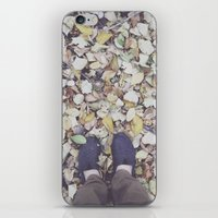 feet iPhone & iPod Skins featuring Feet by Jeremiah Locke