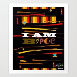 I AM BIOPC Art Print