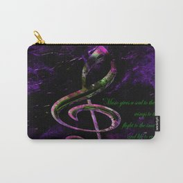 Musical Quote Carry-All Pouch