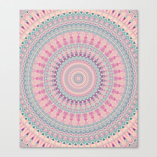 Mandala 491 Canvas Print