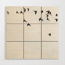 Birds Wood Wall Art