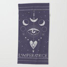 L'Imperatrice or L'Empress Beach Towel