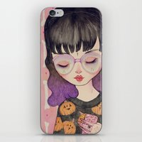 loll3 iPhone & iPod Skins featuring Pumpkin by lOll3