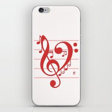 Love Music ~ Valentines Edition ~ iPhone & iPod Skin