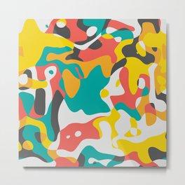 Cubist art Metal Print