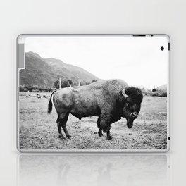 Alaska Bison Laptop & iPad Skin