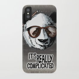 it's really complicated. iPhone Case