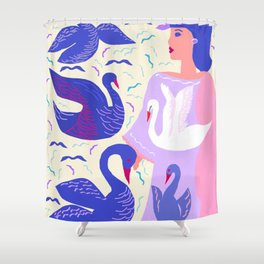 HYACINTHE Shower Curtain