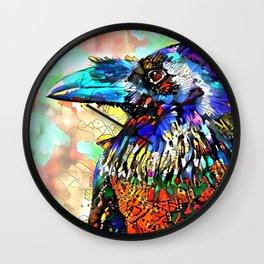 Raven Call Wall Clock