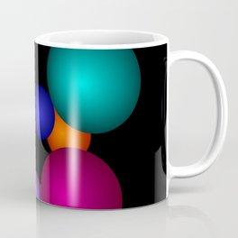 abstract on black -2- Coffee Mug