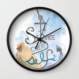Anchor Wall Clock