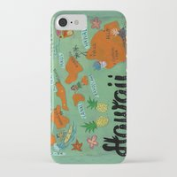 hawaii iPhone & iPod Cases featuring HAWAII by Christiane Engel
