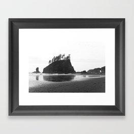 La Push Beach #2 - La Push, WA Framed Art Print