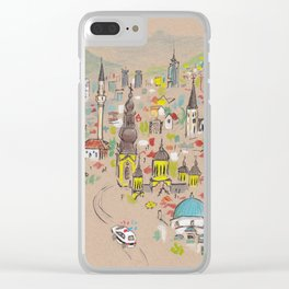 Sarajevo Clear iPhone Case
