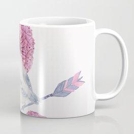 Cute Bird and Dandelion Coffee Mug