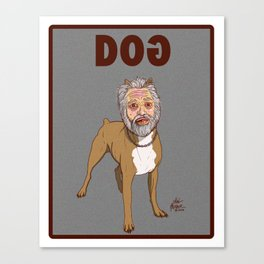 GOD DOG FROM INVASION OF THE BODY SNATCHERS Canvas Print