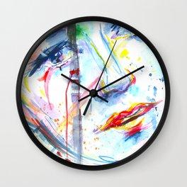 Visage Wall Clock