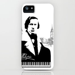 Frederic Chopin iPhone Case