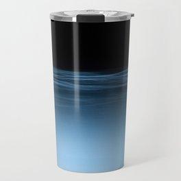 twilight shine on the horizon | space 017 Travel Mug