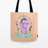 gucci Tote Bags featuring Gucci Mane may or may not be guilty... by Brittney Maynard