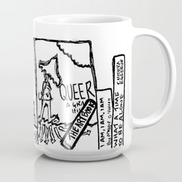 Bookshelf - Midwinter Collection Coffee Mug