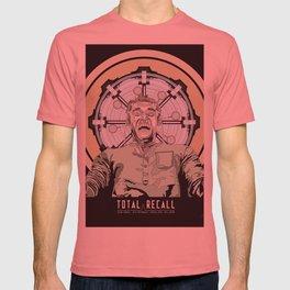 Total Recall - Arnold Schwarzenegger Flavour T-shirt