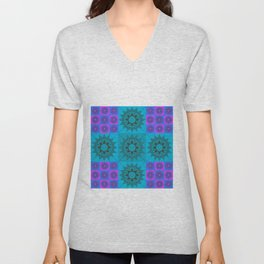 Squares13 Unisex V-Neck