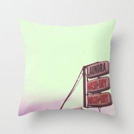 laundra  Throw Pillow