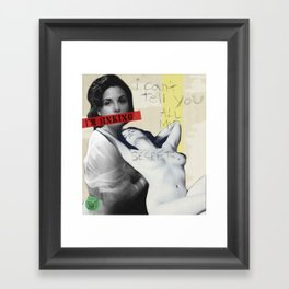Audrey Horne Framed Art Print