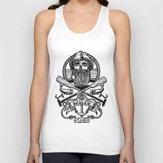 SAILOR SKULL Unisex Tank Top
