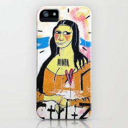 Gioconda - RDVM05 (Paint Canvas) iPhone Case