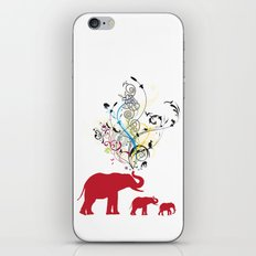 Me and my friends iPhone & iPod Skin