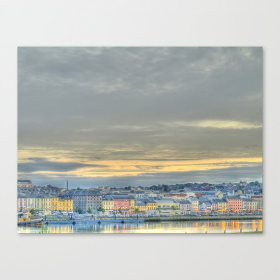Waterford City Canvas Print