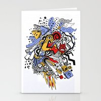 random Stationery Cards featuring Random by waldy chavez