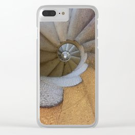 Spanish Spiral Clear iPhone Case
