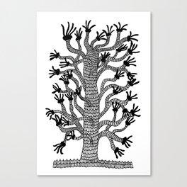 Handy Tree Canvas Print