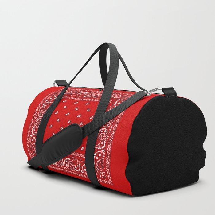 Paisley - Bandana - Red - Southwestern - Boho Sporttaschen