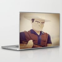 cowboy Laptop & iPad Skins featuring Cowboy by Natasha N. Walker